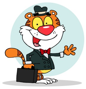 business tiger