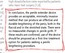 sg study conclusion SizeGenetics Penis Extender Study: Conclusions and Discussion from the British Journal of Urology (International) March 2009