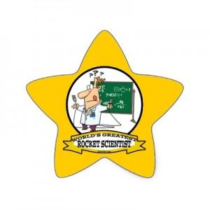 rocket scientist badge
