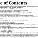Video Table of Contents - Click to Enlarge