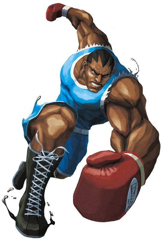 balrog street fighter II