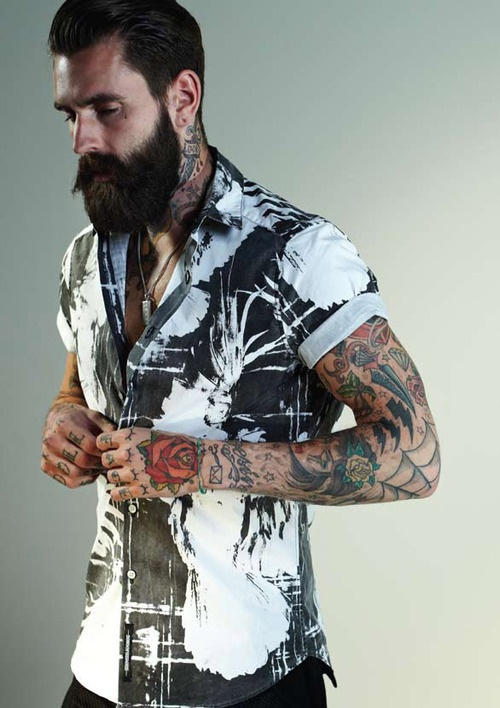 ricki hall tattoos photo shoot