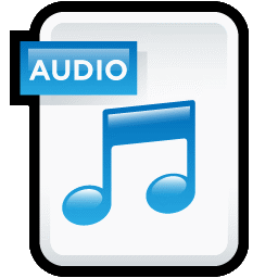 Audio File Icon Thumbnail