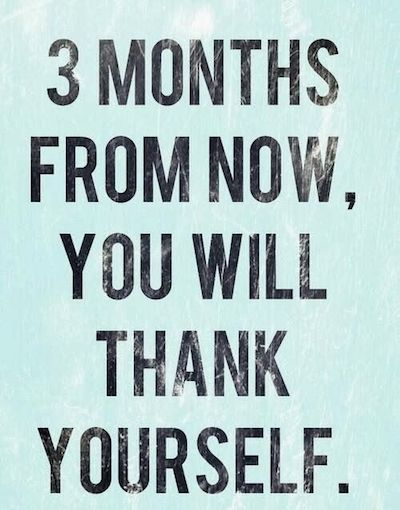 weight loss motivation quote 3 months
