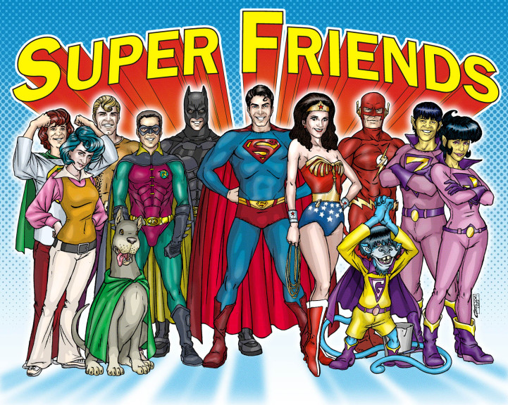 Super Friends by TheComicFan