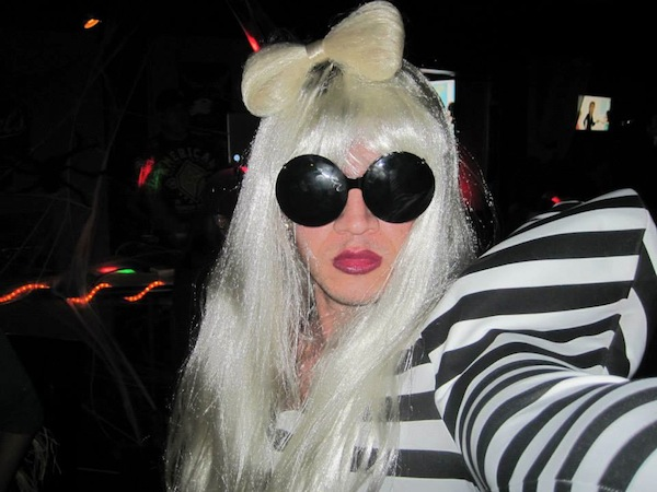 chris as lady gaga