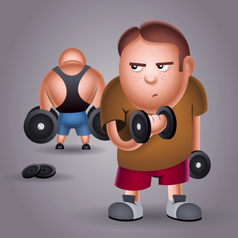 Clipart Gym People