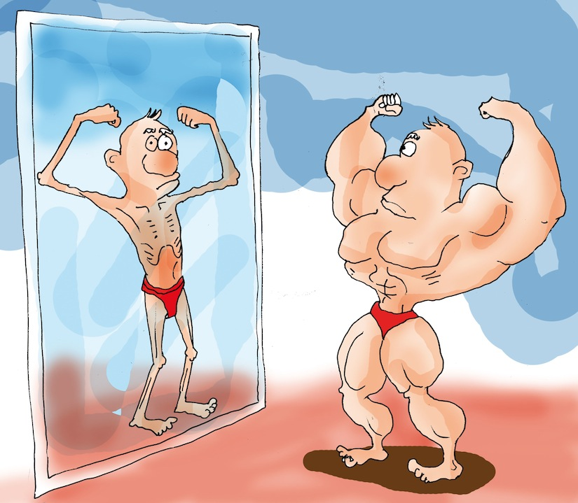 bodybuilder body dysmorphia