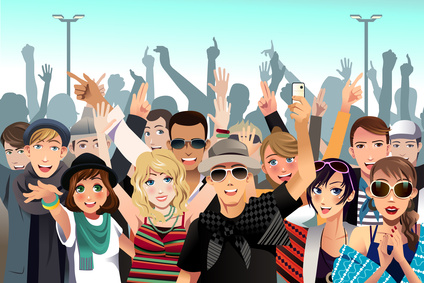 crowd 1 clipart