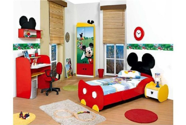 mickey-kids-bedroom-cartoon