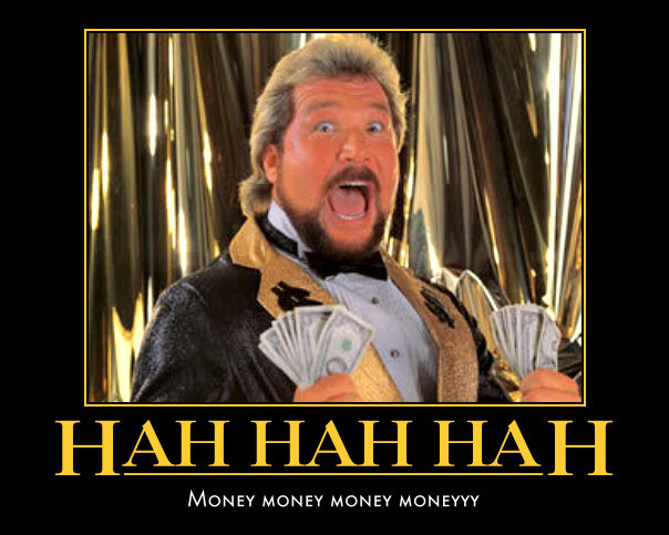 ted dibiase money money money money