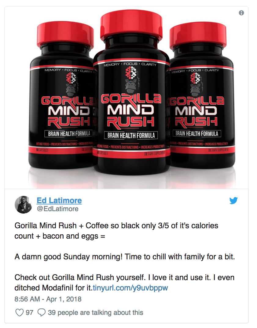 Gorilla Mind Rush Review by Ed Latimore