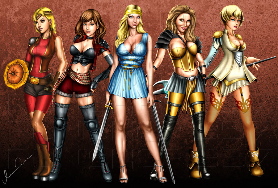 fantasy girls by punisher