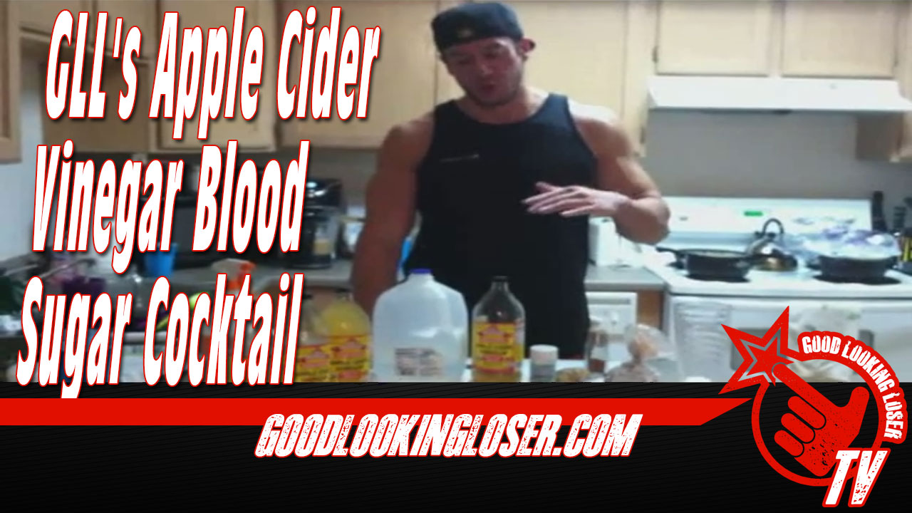 GLL's Apple Cider Vinegar Blood Sugar Cocktail