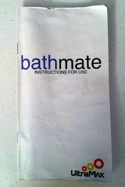 Bathmate Instruction Manual