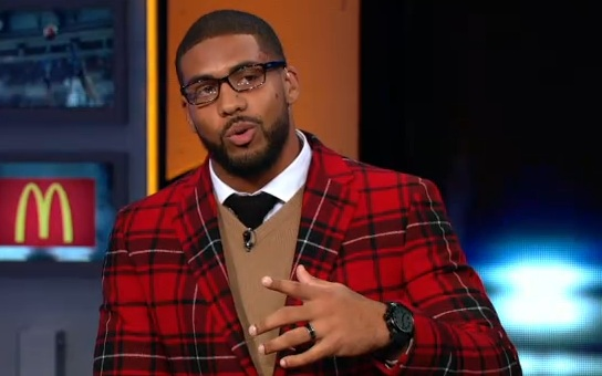Arian Foster Red Jacket